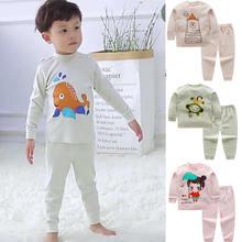 Комплект одежды для новорожденных девочек, топы с длинными рукавами и рисунком+ штаны, комплект из 2 предметов, детская одежда Bebes, детские спортивные костюмы, нижнее белье