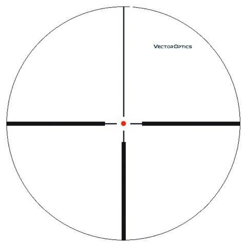 optica do vetor tactical swift 125 45x26 arma