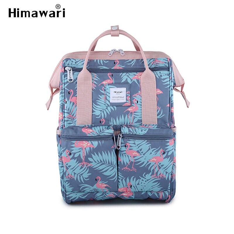 Himawari mode sac à dos femmes ordinateur portable voyage sac à dos femme imperméable décontracté l'eau casual cartables pour filles Anti-vol sacs Mochila
