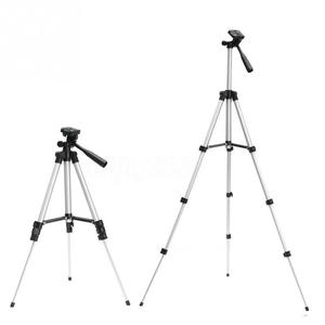 Image 4 - アルミプロフェッショナル伸縮カメラ三脚スタンドホルダーデジタルカメラビデオカメラiphone 4用三脚スマートフォン