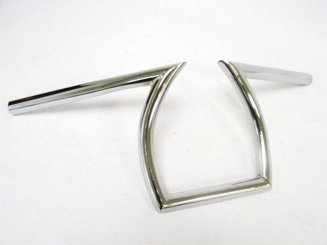ФОТО Freeahipping Chrome Drag  25mm  handle bar Handlebars 1
