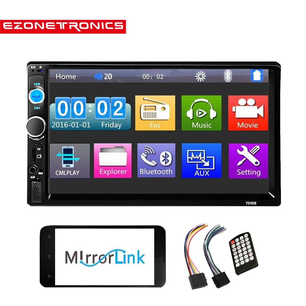 Car Radio Player Mirror Link autoradio 2 din General Car Models 7 inch LCD Touch Screen