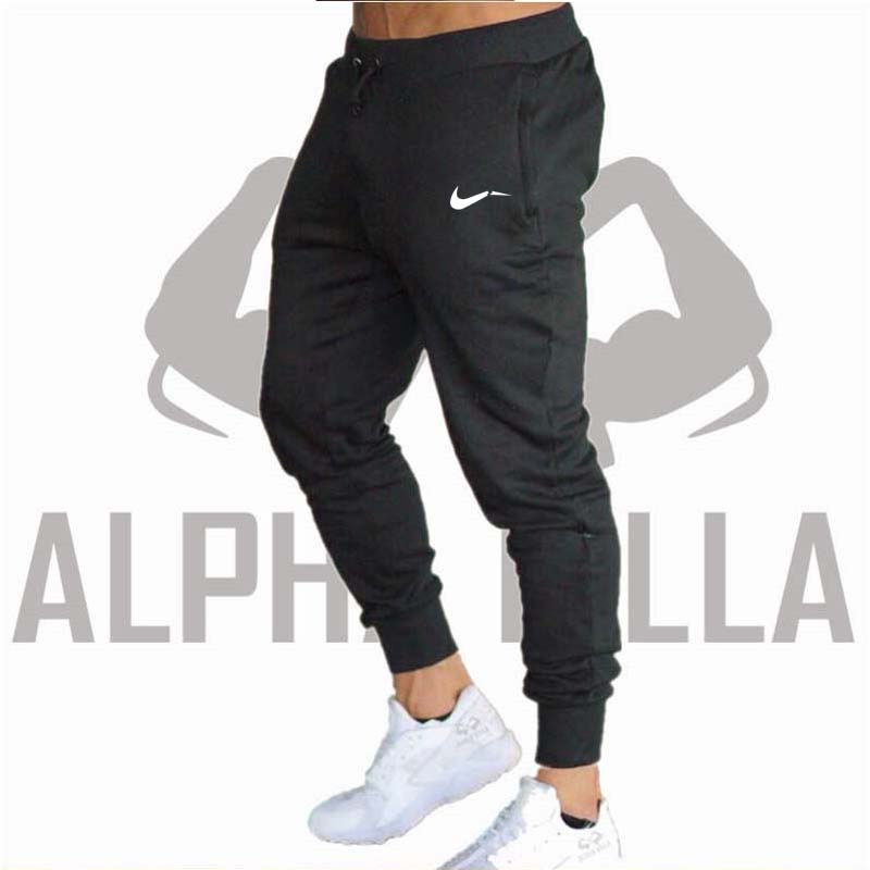 2018Excessive High quality Jogger Pants Males Health Bodybuilding Gyms Pants For Runners Model Clothes Autumn Sweat Trousers Britches Sweatpants, Low-cost Sweatpants, 2018Excessive High quality Jogger Pants Males Health Bodybuilding...
