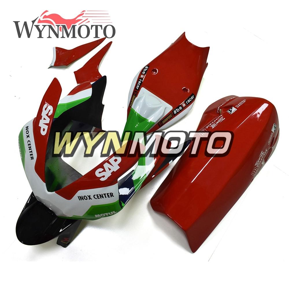 New Fiberglass Racing Red Black Green Motorcycle Full Fairing Kit For 2010 2015 Aprilia RSV4 1000 12 14 ABS Plastic Bodywork