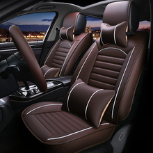 цена на Leather Universal car seat cover for opel astra k Antara Vectra zafira all models auto accessories car styling