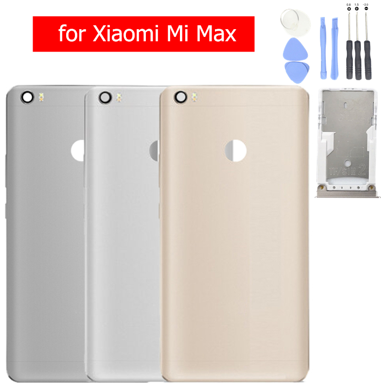 Tray-Holder Back-Cover Rear-Housing Repair-Spare-Parts Max-Battery Xiaomi Original Metal