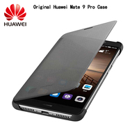 HUAWEI Mate 9 Case Original Brand Luxury Smart Window Flip Leather Case Cover For Huawei Mate