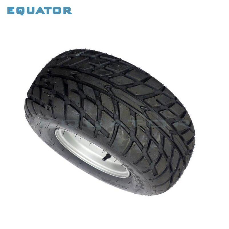 ATV 8 pouces sous vide haute résistance à l'usure pneus 18X9. 50-8 18*9.50-8 (220/55-8) pneus de route avec roues en fer - 2