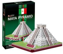 Maya Pyramid CubicFun 3D educational puzzle Paper & EPS Model Papercraft Home Adornment for christmas gift
