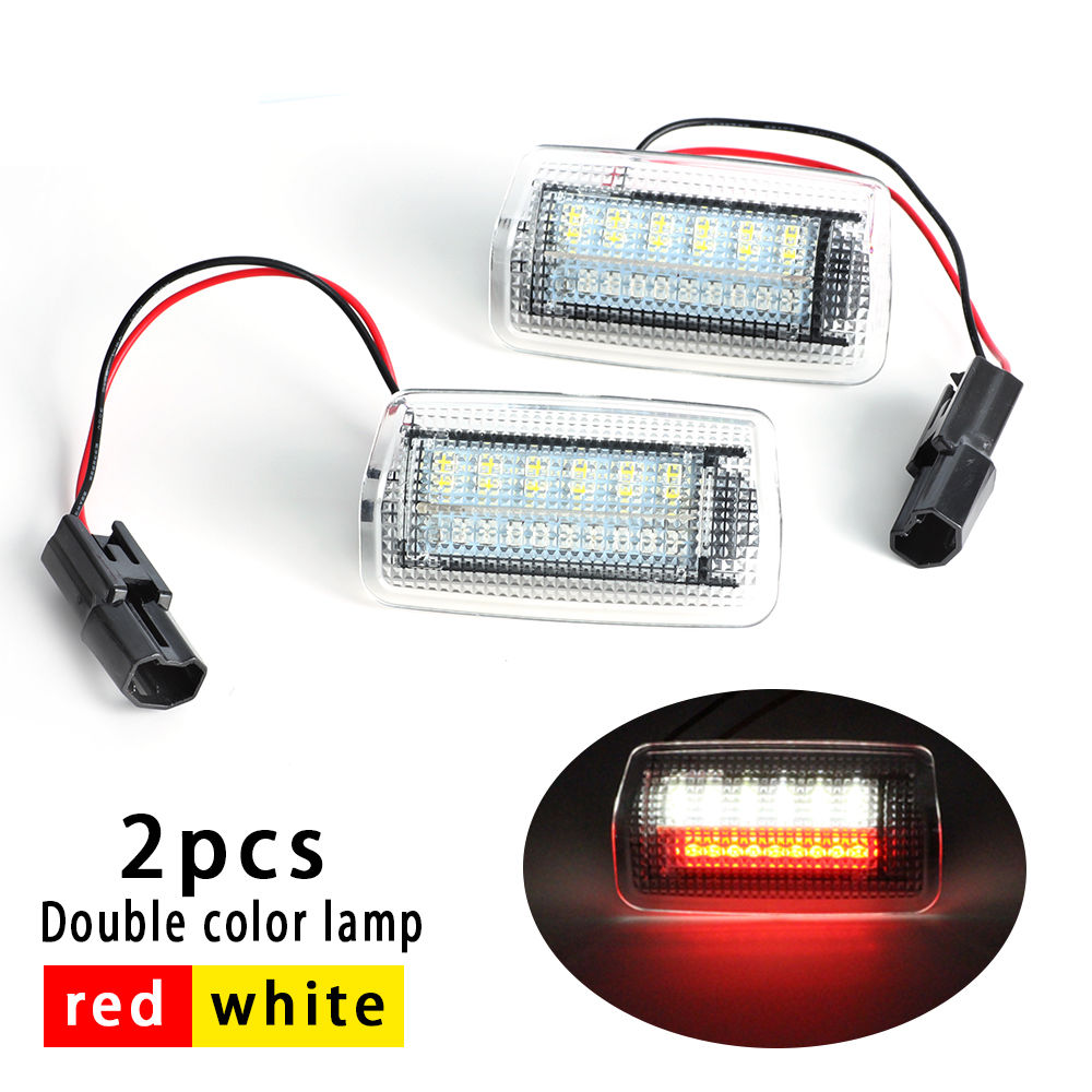 Auokey 2PCS LED Car Door flash Light canbus for TOYOTA Alphard Vellfire Estima LEXUS