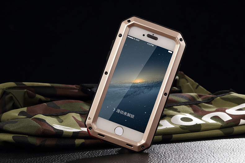 HTB1UoOAeL9TBuNjy0Fcq6zeiFXac Heavy Duty Protection Doom armor Metal Aluminum phone Case for iPhone 11 Pro Max XR XS MAX 6 6S 7 8 Plus X 5S 5 Shockproof Cover