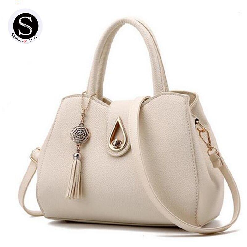Senkey Style Women Messenger Bags Handbags Women Famous Brands 2017 Tassel Sac A Main Luxury Women
