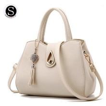 Senkey Style Frauen Messenger Bags Handtaschen Frauen Berühmte Marken 2017 Quaste Sac Ein Haupt Luxus Frauen Designer Hochwertige