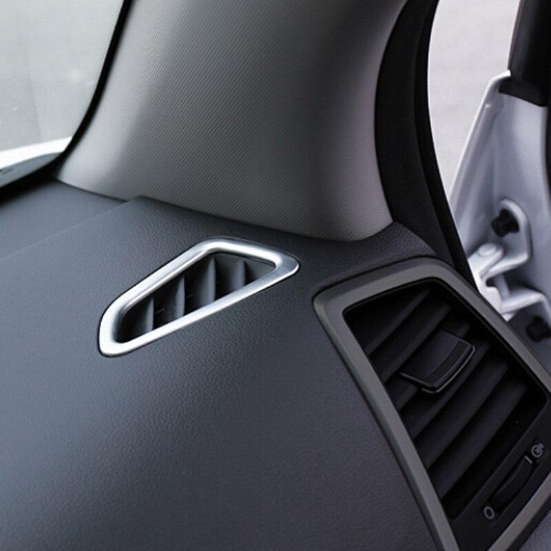 Για Hyundai Tucson 2016 2017 Matte Εσωτερικό Κλιματισμός AC Εξαεριστικό κάλυμμα Διακοσμητική εσωτερική πρίζα Διακοσμητικό πλαίσιο Διακόσμηση εσωτερική επένδυση