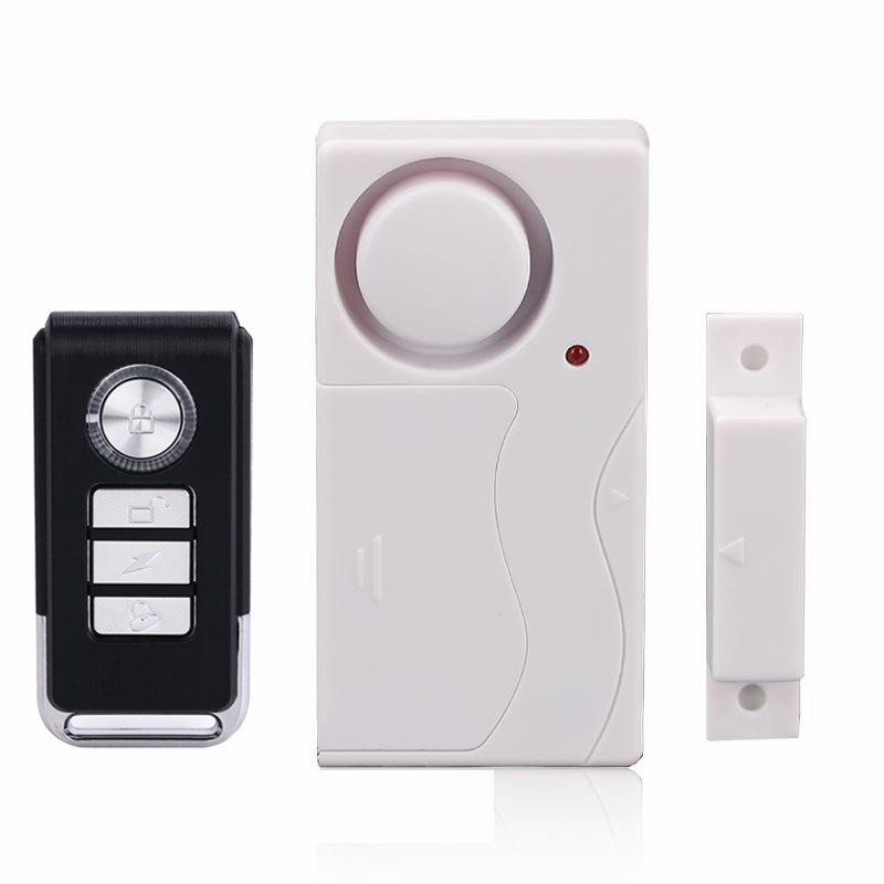 Wireless Remote Control Door Windows Alarm Door magnet Alarms Doors Windows Sensor/Siren Burglar Alarm Systems Security Home home security door window siren magnetic sensor alarm warning system wireless remote control door detector burglar alarm