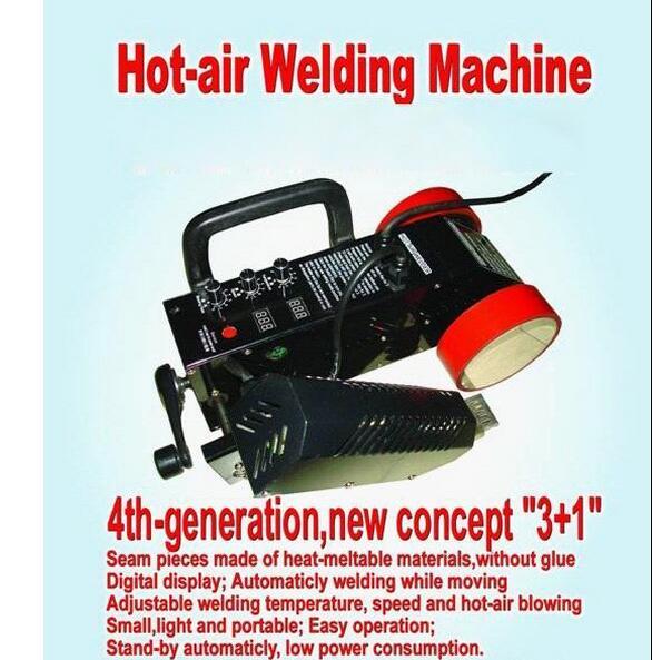 Free shipping Flex PVC Banner Welding machine for banner joint 110V 220V avaliable Hot air welder machine PVC Welder 110V 220V