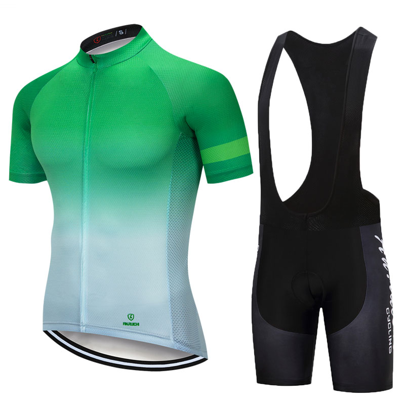 Gradient Color Cycling Jersey Set Men Short Sleeve Riding Bicycle Cycling Clothes Men Jerseys Suits Customized/Wholesale ServiceGradient Color Cycling Jersey Set Men Short Sleeve Riding Bicycle Cycling Clothes Men Jerseys Suits Customized/Wholesale Service