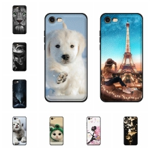 For Apple iPhone 7 A1778 A1660 Cover Soft TPU Leather For Apple iPhone 8 A1863 A1905 Case Dog Pattern For iPhone 7 8 Funda Capa цена и фото