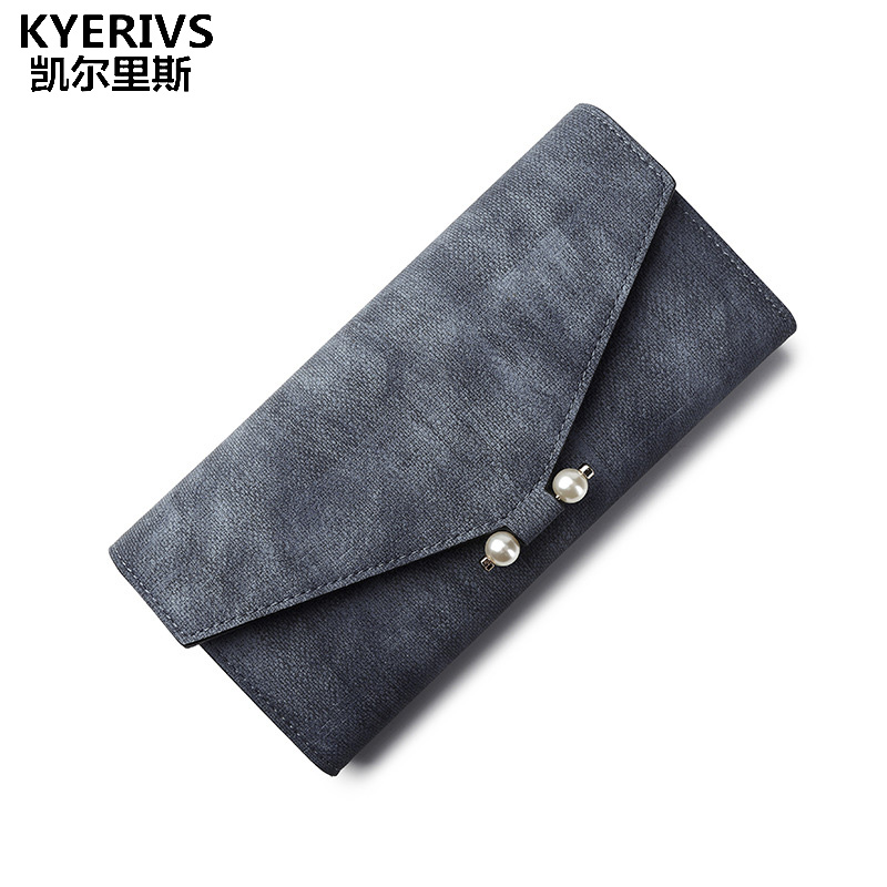 KYERIVS Women Wallets Pu Leather Ladies Purse for Phone Coin Pocket Long Wallet Female Clutch Bag Zipper Purse Women 2017 unique women pu leather zipper wallet colorful women s wallets stone leather coin purse ladies long purses brand clutch wallets