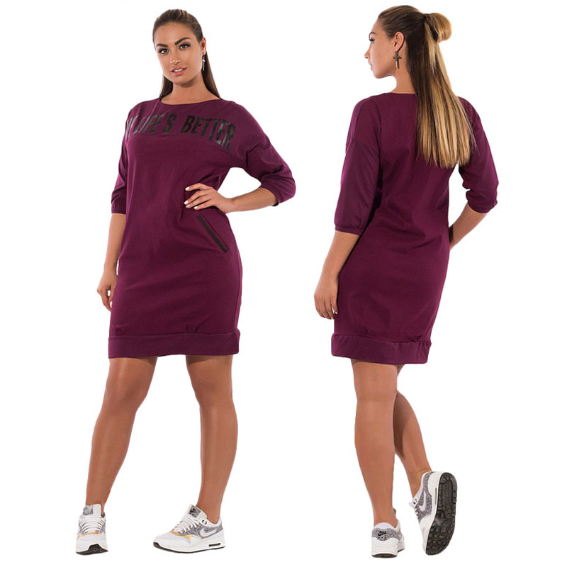 2018 Spring Autumn Pencil Dresses Casual Fashion Plus Size Slim Midi Dress Sexy Party Bodycon Big Size Women's Clothing 2XL-6XL
