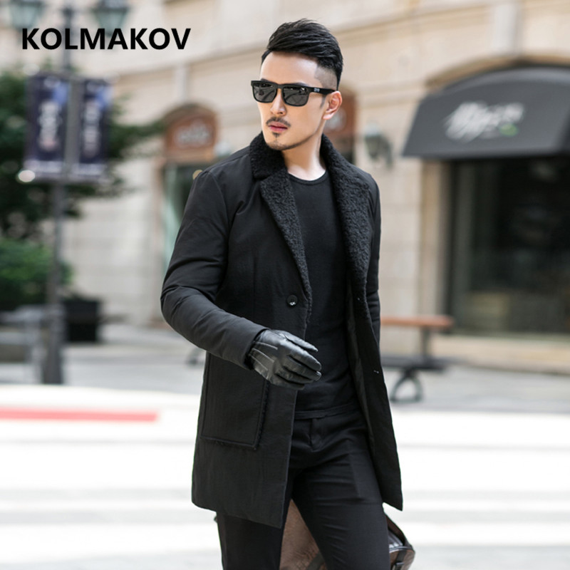 2018 Men   Down     Coat   Winter fashion   Down   Jacket high quality Parka men's casual white duck   down   Jackets mens size M-4XL