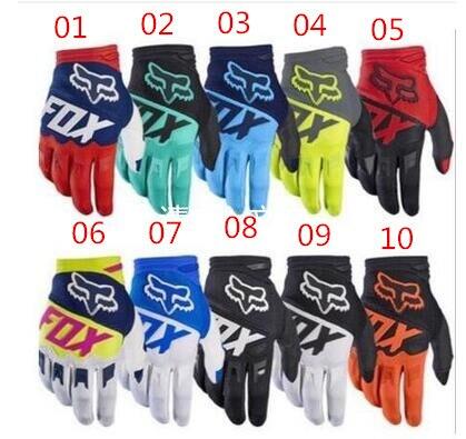 2017 modèle 16 couleur RENARD gants DIRTPAW motocross gants, gants de montagne, VTT gants GP 661