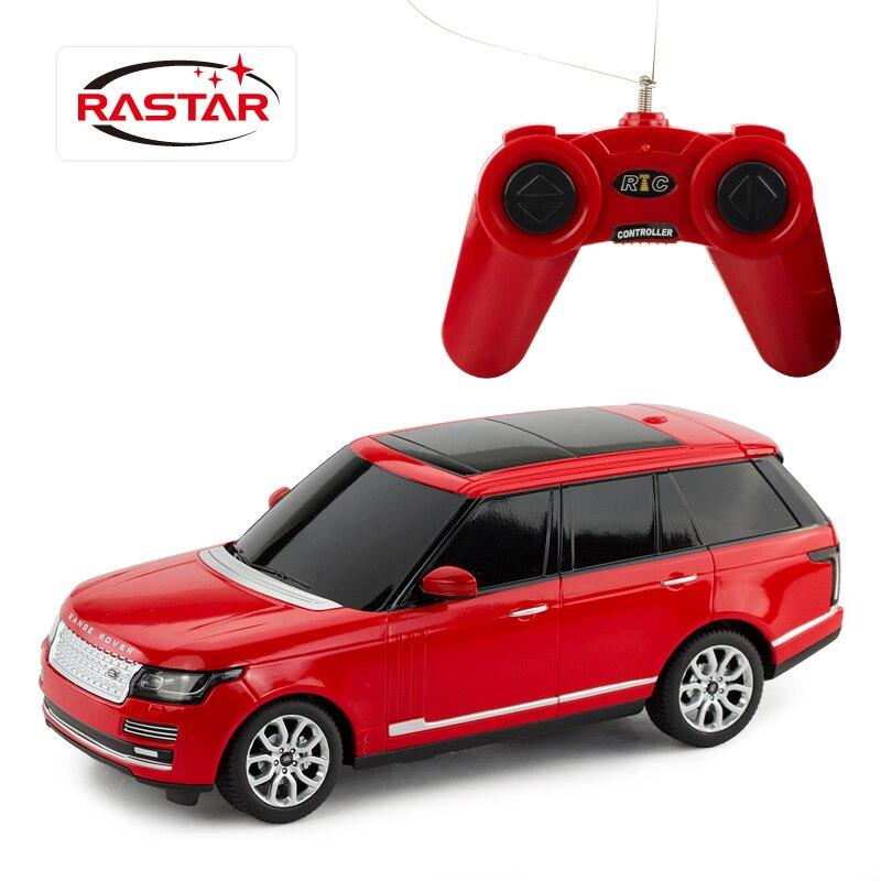 freeshipping children rastar range rover suv 124 remote control rtr electric rc cars toys