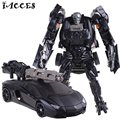 Cool Plastic ABS + Alloy Deformation Robot Car  Toys Anime Brinquedos Movie 4 Action Figures Classic Model Toys Boys Gifts
