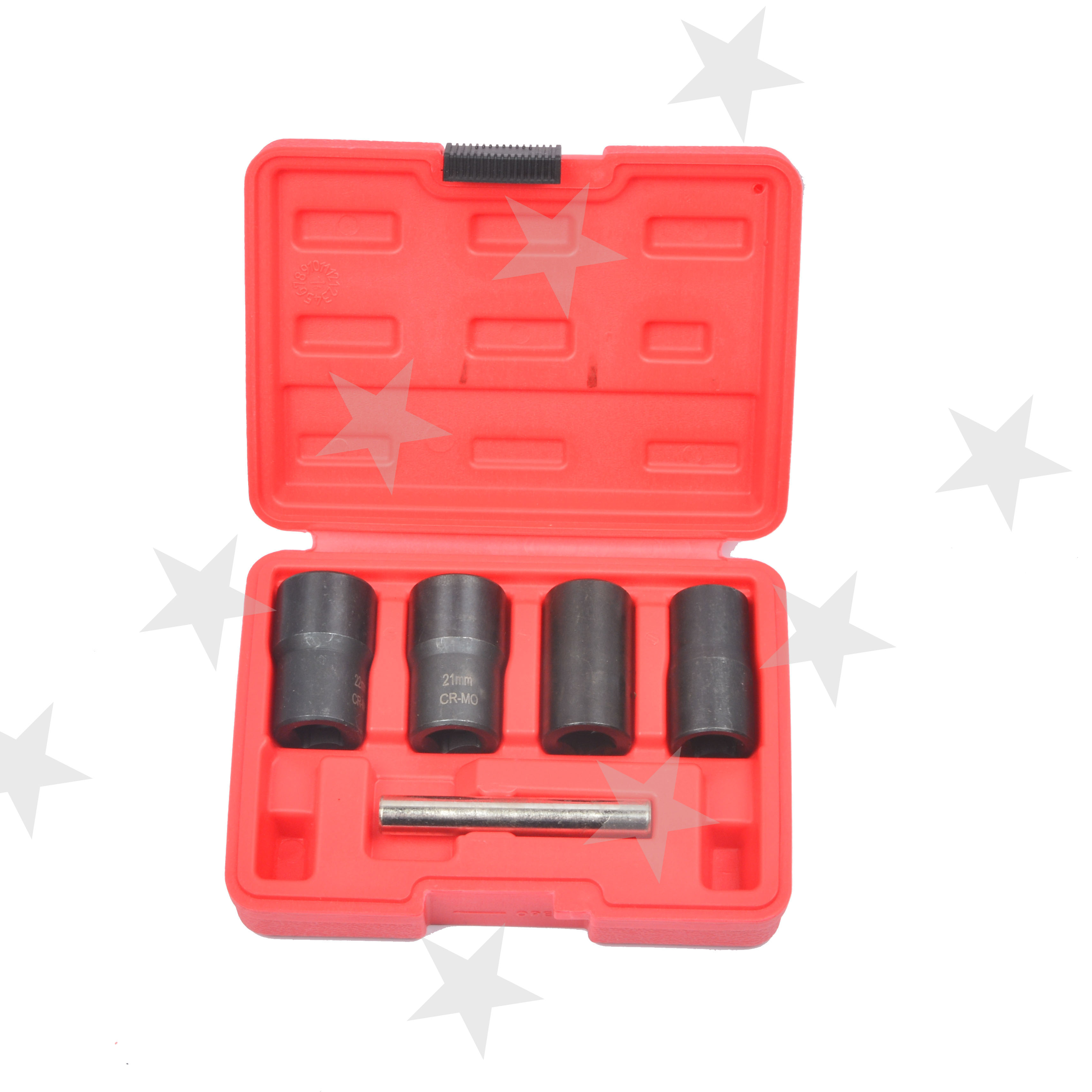 Gastfreundlich 5 Pcs Twist Sockel Set 1/2 Stick Locking Rad Beschädigt Abgerundete Getragen Mutter Bolzen Entferner Werkzeug Set 17 19 21 22mm
