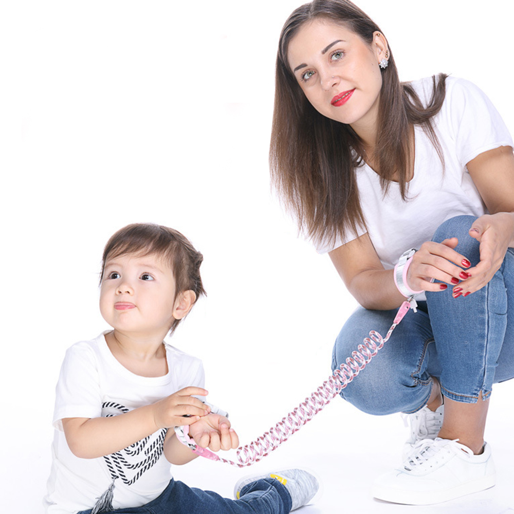 Anti Lost Wrist Toddler Leash For Children Baby Safety Harness Outdoor Walking Hand Belt Colorful Kids Anti Lost Wrist Belt