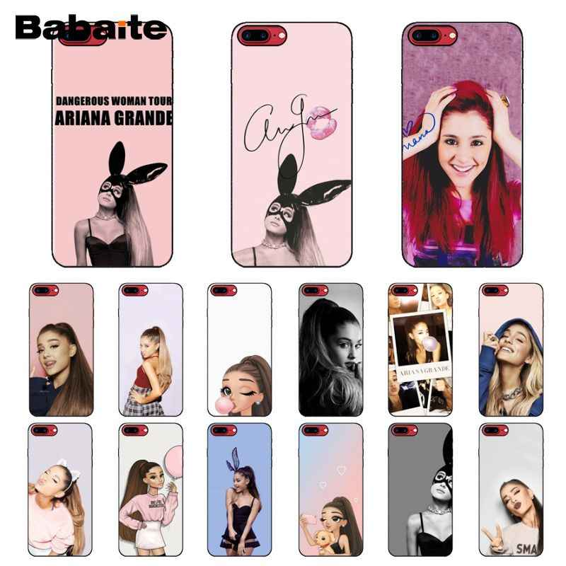 Babaite Ag Ariana Grande Chat ใหม่มาถึงโทรศัพท์มือถือ iphone สำหรับ iphone 8 7 6 6 S Plus X XS MAX 5 5 S SE XR มือถือ