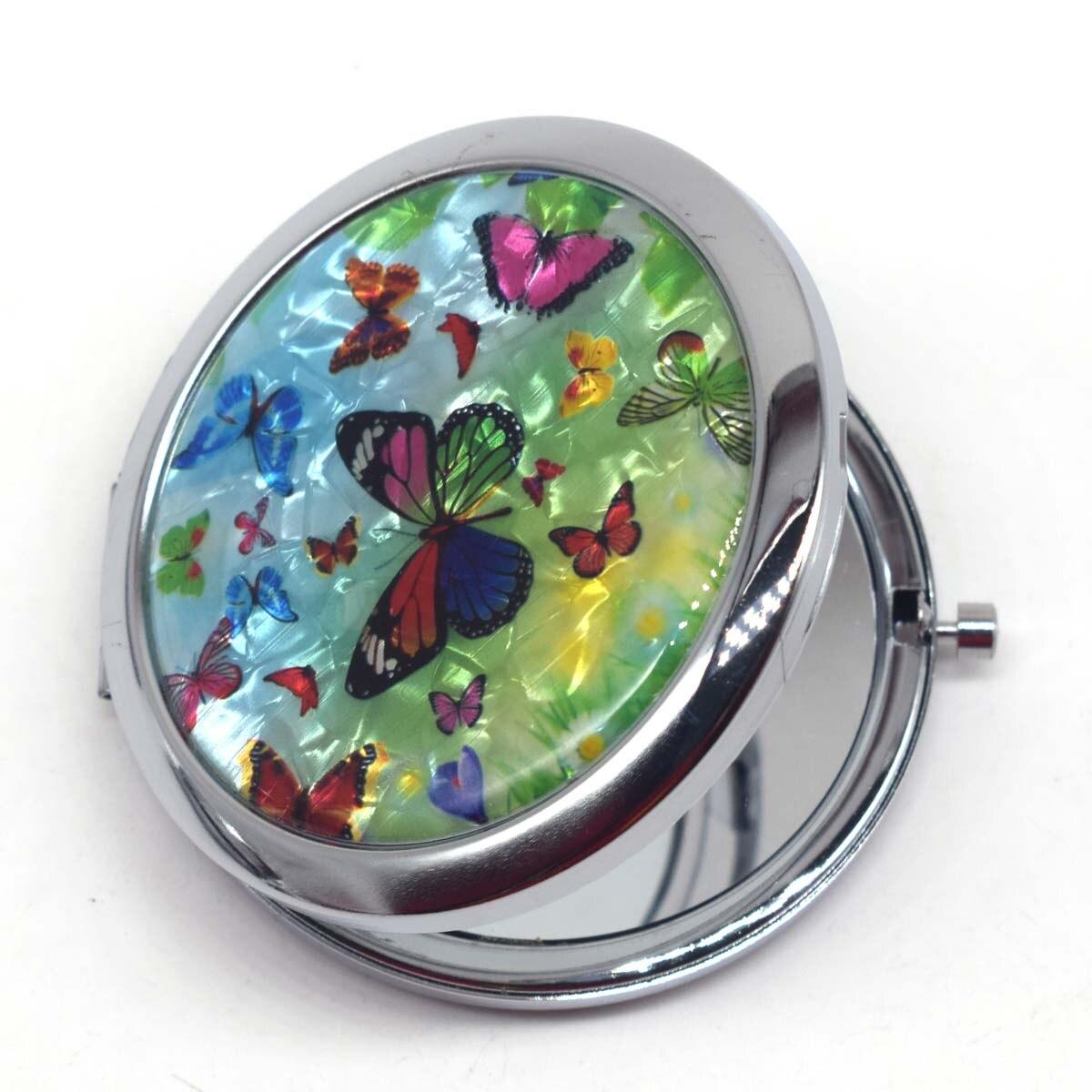 Schönheit & Gesundheit Tasche Make-up Spiegel Kleine Kosmetische Kompakte Spiegel Espelho De Maquiagem Espejos De Bolsillo Dia 7 Cm Mini Gril