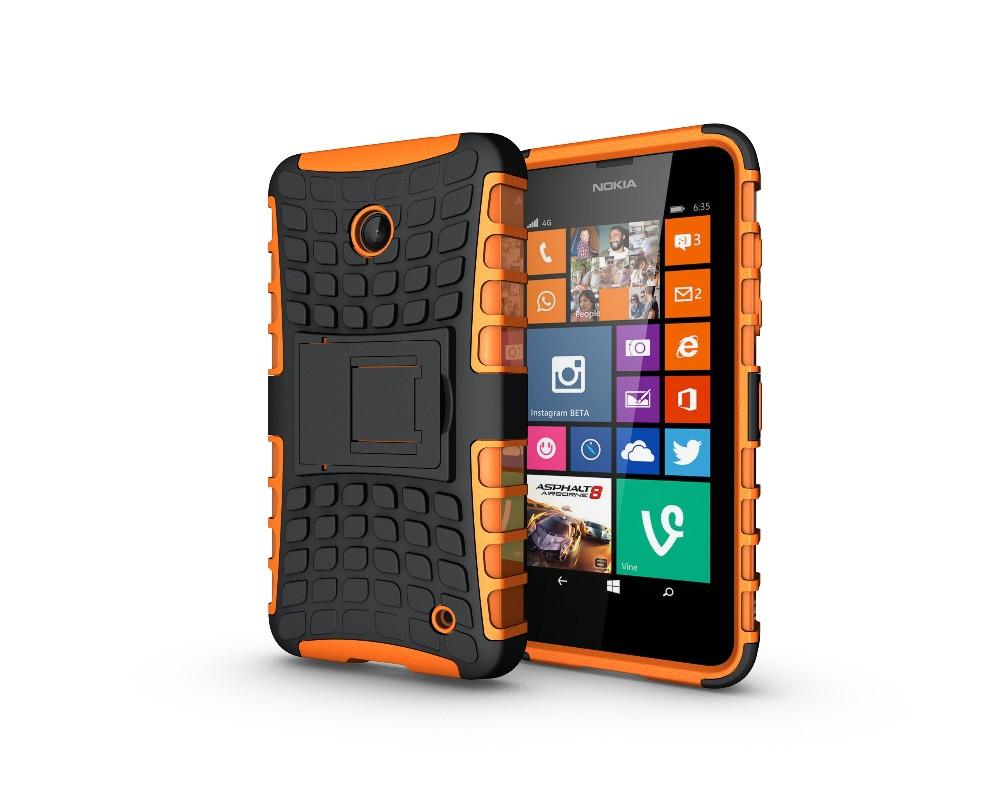 Uchwyt hybrid armor case dla microsoft lumia 650 640 635 630 case tpu obudowa odporna na wstrząsy pokrywa dla nokia lumia 635 640 650 case 13
