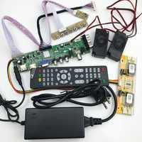DS. D3663LUA. A81 DVB-T2/T/C TV numérique 15-32 pouces universel LCD TV contrôleur carte pilote pour 30pin 2ch, 8 bits