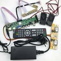 DS D3663LUA A81 DVB T2 T C Digital TV 15 32 Inch Universal LCD TV Controller