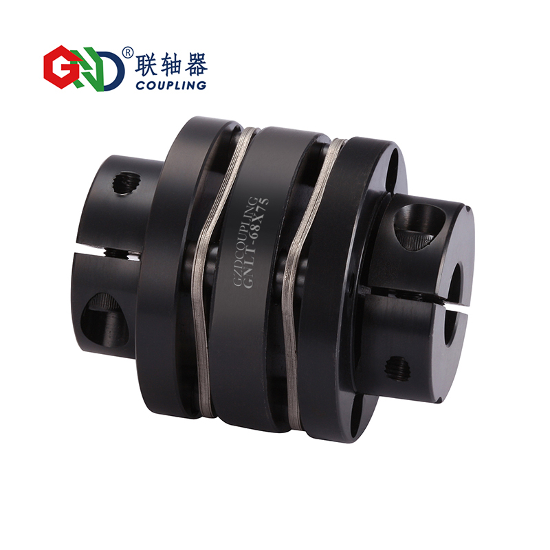 GNLT 45 # L'acier Renforcé À Double Membrane Pince Série 45 # Acier arbre accouplements D82mm à D126mm; L98mm à L110mm