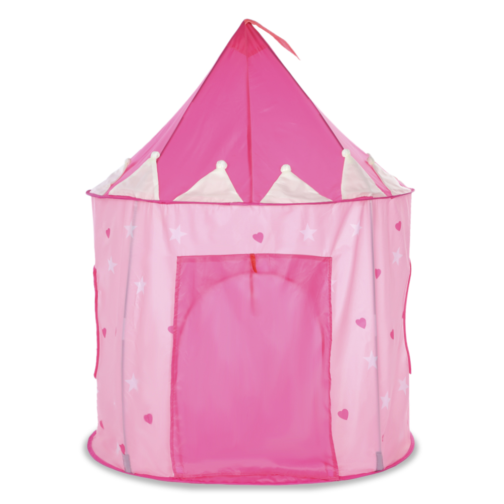 Kid Portable Foldable Luminous Princess Castle Play Toy Tents Cubby House Castle Outdoor Indoor Garden Sport Toy Playhouse Lodge