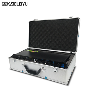 Image 5 - Top Professional 4 Channel UHF Wireless karaoke Microphone System with carry case handhled MIC for Stage Church wedding