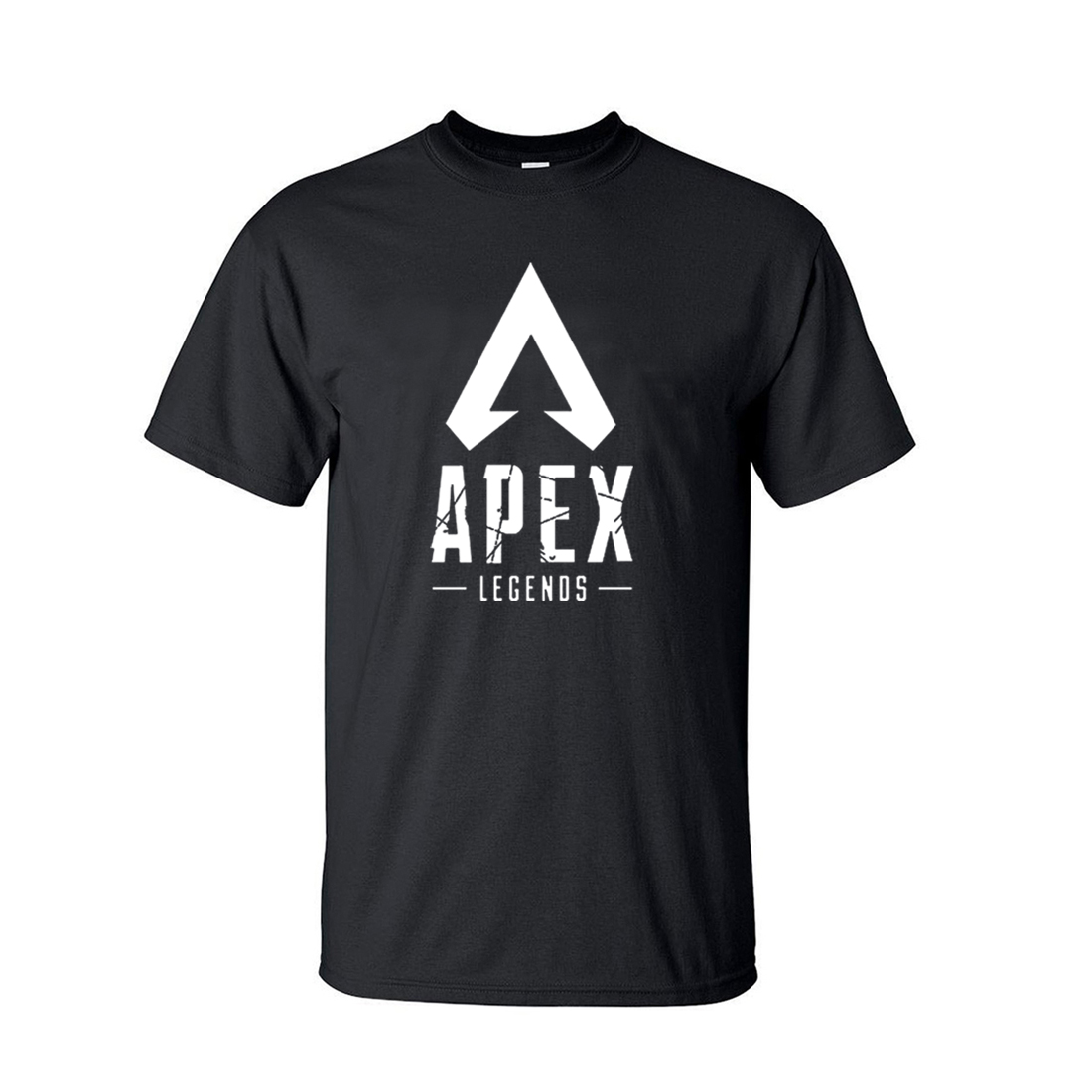 Apex Legends Game   T  -  Shirt   Men 2019 Summer Hot Men's Short Sleeve   T     Shirts   Black Tops Tees For Adult Gaming   Shirt   Plus Size CM01