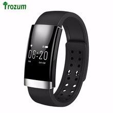 MS01 Мода Смарт Браслет для Женщин Мужчин Bluetooth Смарт часы для iOS Android как Miband 2 Монитор Сердечного ритма Шагомер