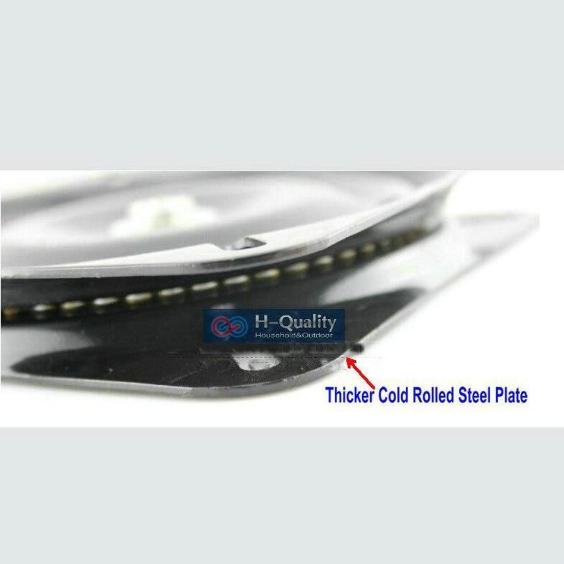 8 tum (200MM) diameter svart lack bakad och full massiv stål - Möbel - Foto 5