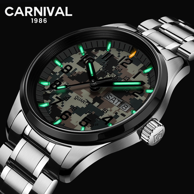 Здесь продается  military sportsT25 tritium luminous watch men quartz fashion casual waterproof camouflage men watches luxury brand relogio reloj  Часы