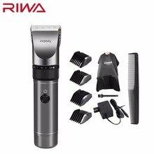 Riwa Professional Hair Clipper 2000mAh Lithium Battery Aluminum 100 240V Hair Cutting Machine X9 Hair Trimmer Hair Shaver