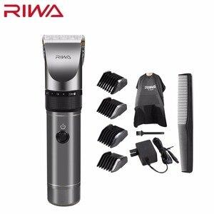 Image 1 - Riwa Professional Hair Clipper 2000mAh Lithium Battery Aluminum 100 240V Hair Cutting Machine X9 Hair Trimmer Hair Shaver