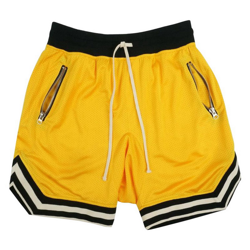 SHUJIN Summer   Shorts   Mens Fashion Striped Patchwork Sportwear   Short   Sweatpants Casual Zipper Pockets Drawstring Mens   Shorts   2019