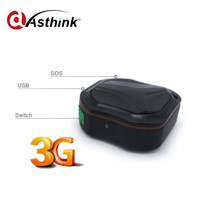 2G 3G Wybrać Najniższy koszt Mini Wodoodporny WCDMA GPS Lokalizator Osobisty/Pies/Kot w czasie Rzeczywistym GPS Tracker I Długi Czas Pracy Baterii