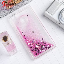 Glitter Liquid Silicon Cases For Huawei P8 Lite P8 Mini Case Fundas For Huawei P10 P9 G9 Lite Mini Plus Nova Youth Edition Cover(China)