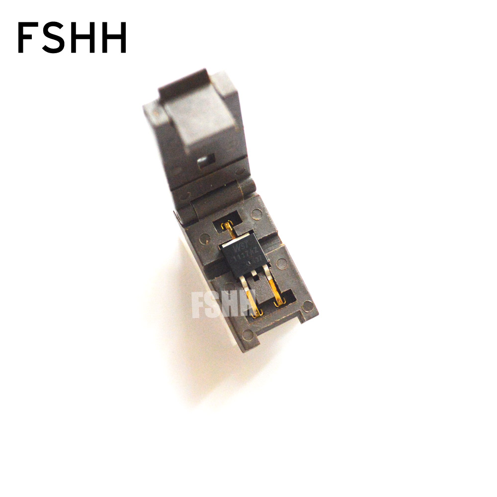 TO-252-3 Burn-in Socket TO252 TO-252 TO252-3 IC Test Socket/IC Socket(Flip Test Seat)
