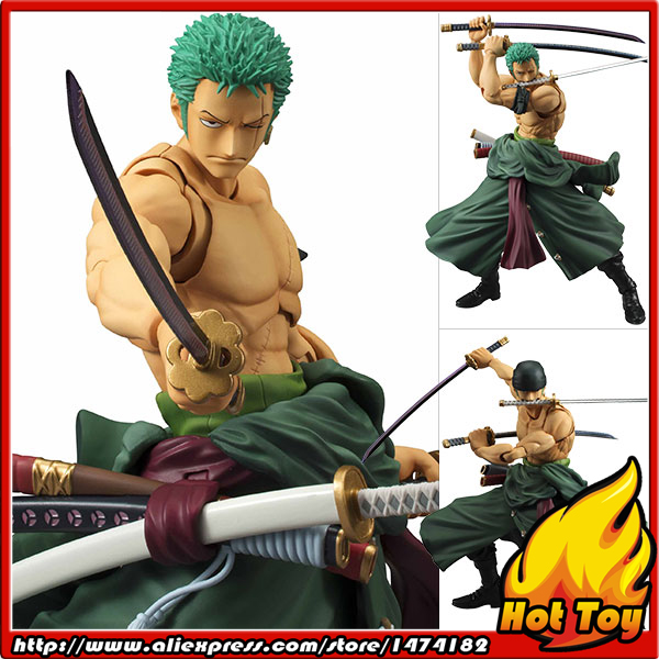 100% Original MegaHouse Variable Action Heroes Action Figure - Roronoa Zoro from ONE PIECE 100% original megahouse variable action heroes action figure dracule mihawk from one piece