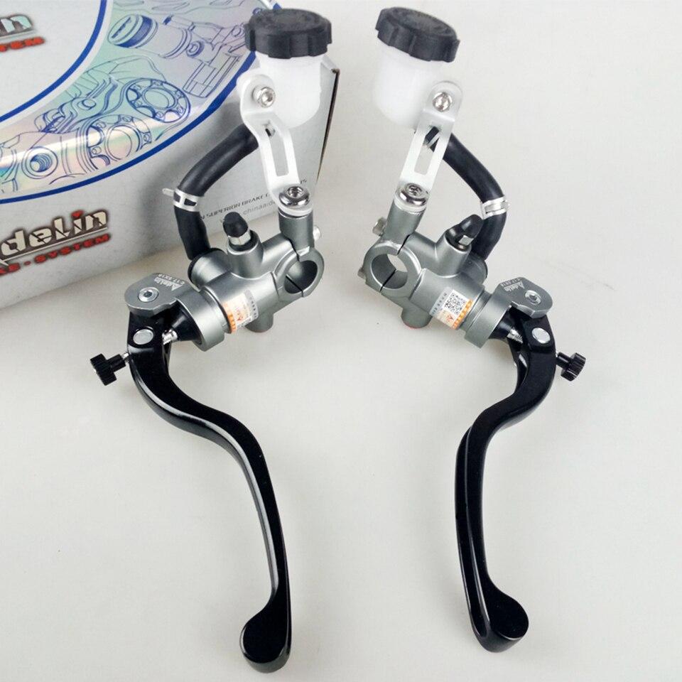 22mm handle bar adelin motorcycle brake clutch master cylinder hydraulic lever Black, /Φ16mm clutch master cylinder